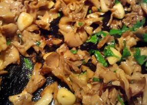 Cauliflower Mushroom Cooking Parsley Close Up
