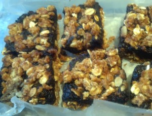 Fig Bars Close Up Stored