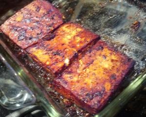 Baking Tofu