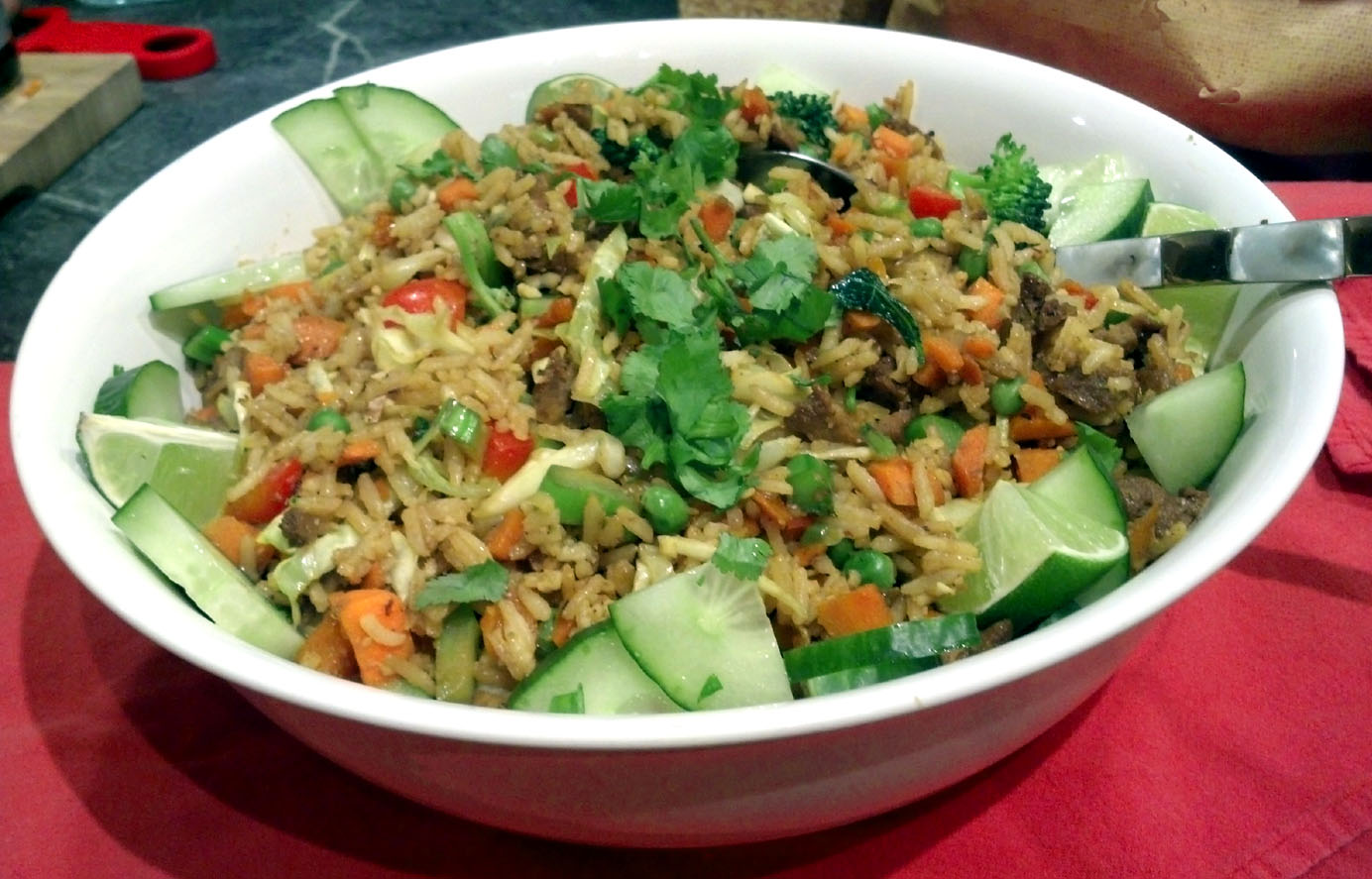 Nasi Goreng: Indonesian Fried Rice, Vegan-Style – wakeupandeat