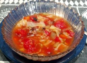 Cabbage Soup Bowl