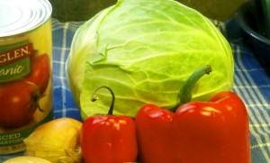 Cabbage Soup Ingredients