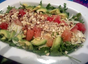 11-13-13 Fennel Grapefruit Salad Close Up