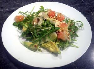 11-13-13 Fennel Grapefruit Salad Plate