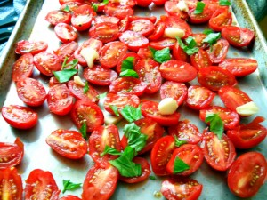 Roasting-tomatoes-step-one