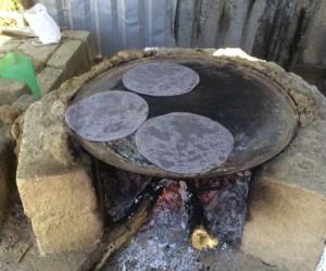 Mex Tortillas Cooking
