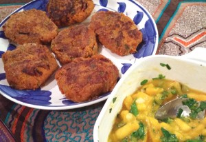 06-08-15 Sweet Potato Mango Salsa Dinner