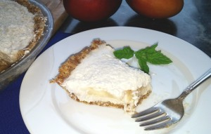 Coconut Banana Creme Pie Slice