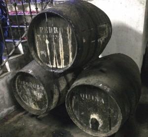 Three Sherry Barrels