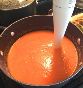 Blending Soup