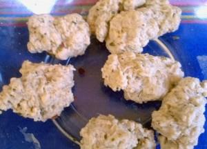 Seitan Dough Pieces
