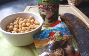 Jamaican Coconut Bean Stew Ingredients