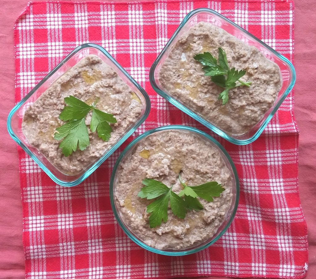 Vegan Lentil Walnut Pate: Perfect Party Food